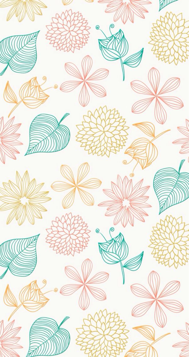 Cute Simple Pattern Wallpaper