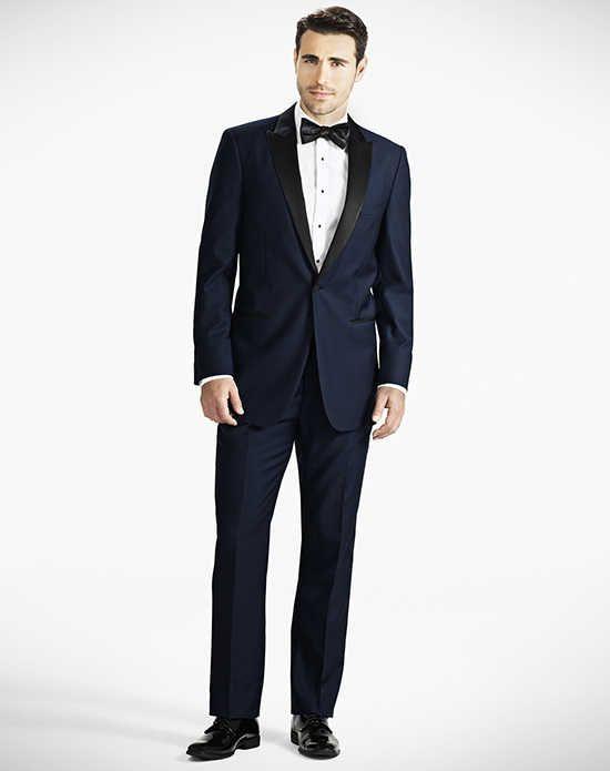 Generation Tux Notch Lapel Slim Fit Charcoal Gray Tux Wedding ...