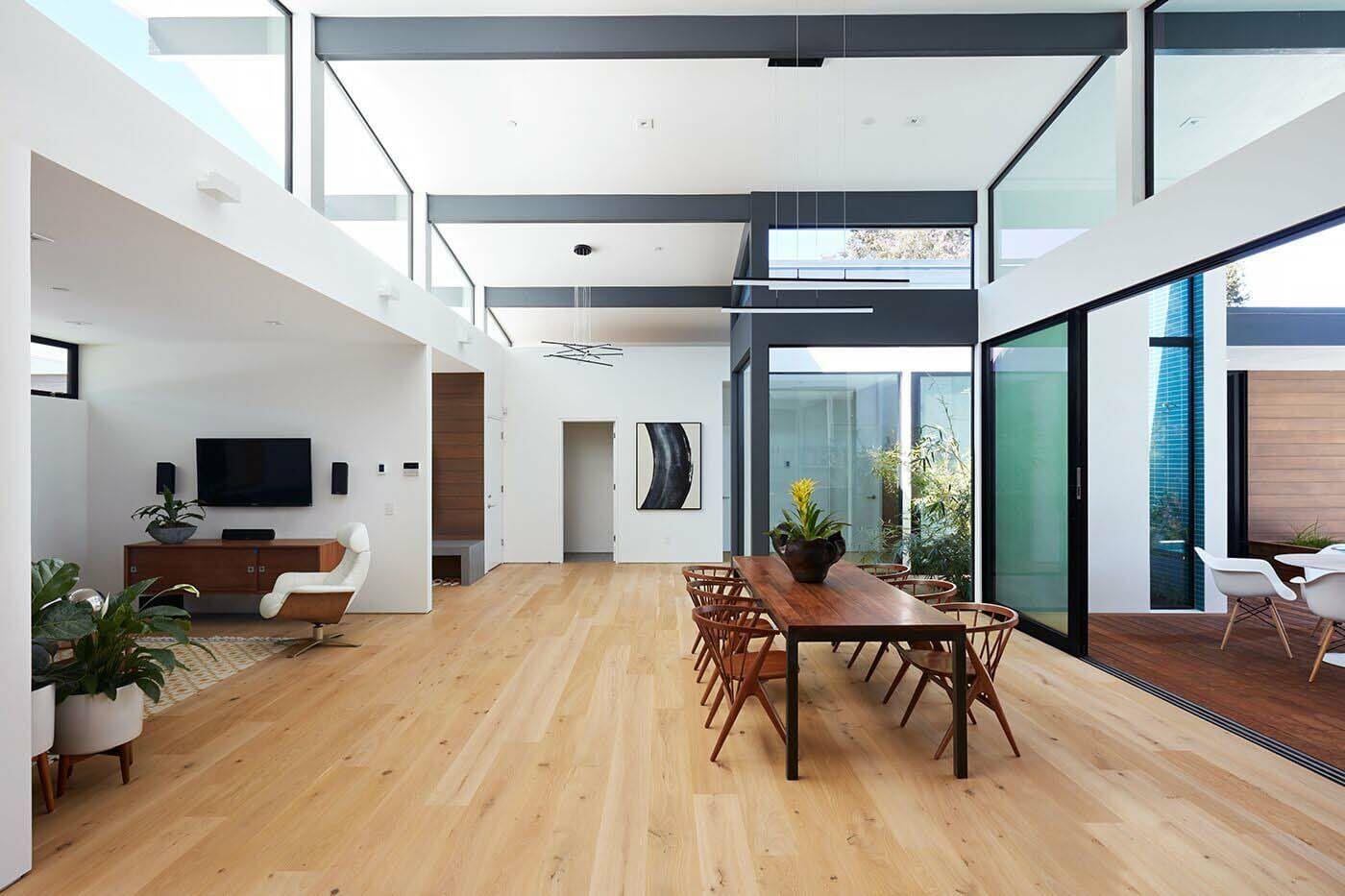 Indoor Outdoor Connectivity Defining Mid Century Modern Los Altos