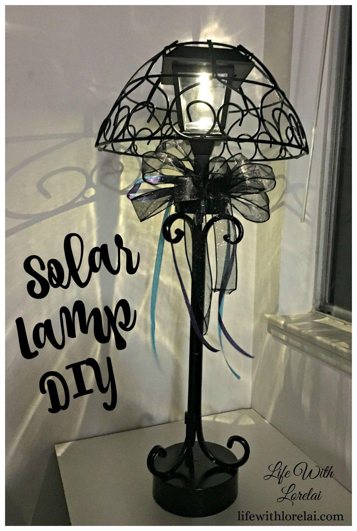 Solar Lamp Diy Light Your Outdoor