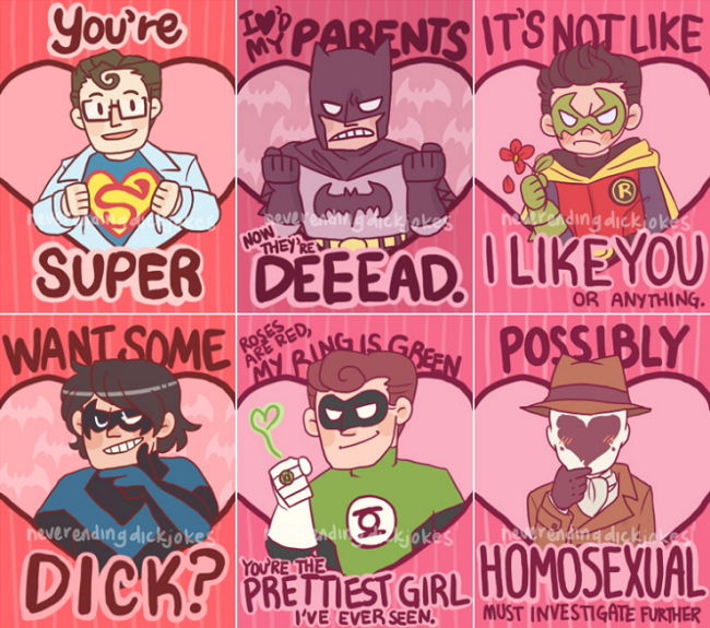 42 More Geeky Valentines | lGBT, Comic and Superheroes