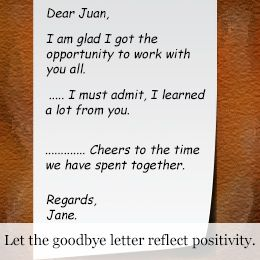 How to Write the Perfect Goodbye Letter to a Coworker
