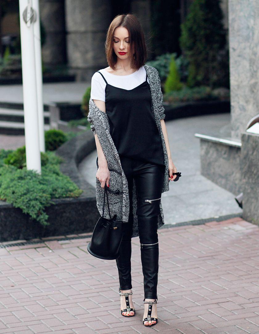 fashion blogsonya karamazova, camisole, cami top over t-shirt