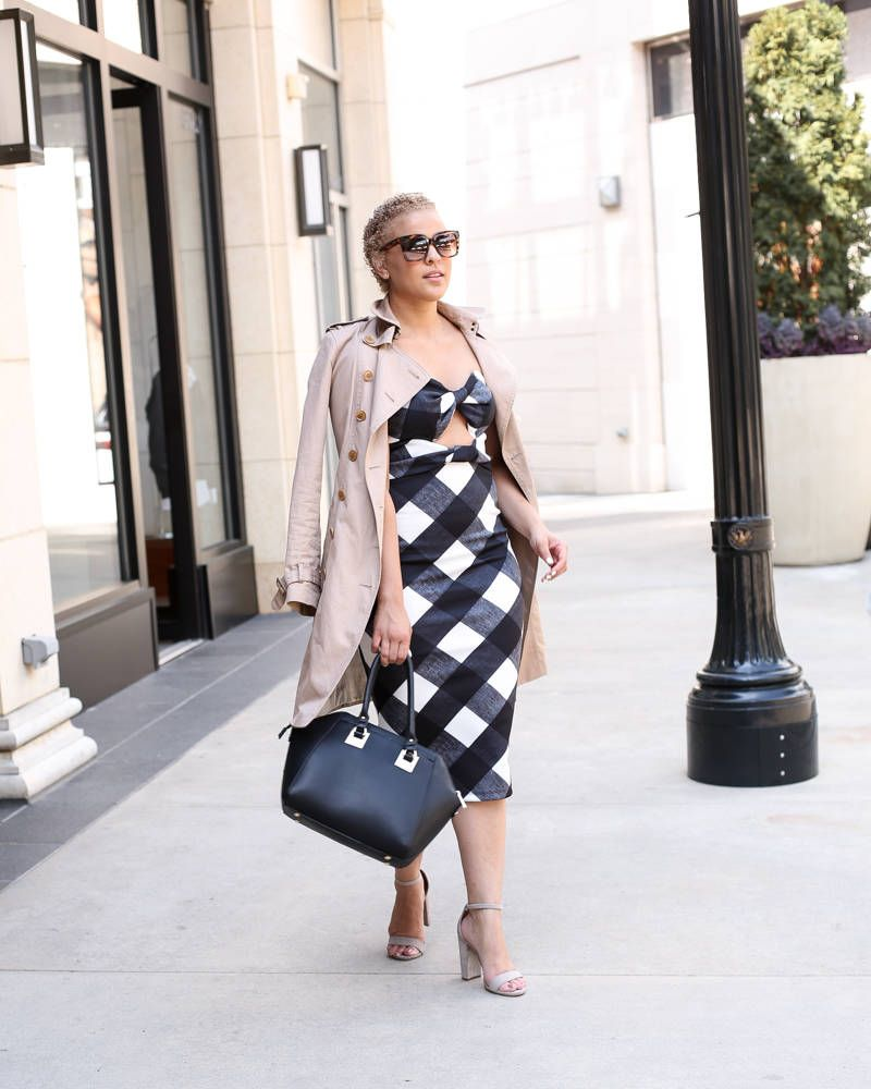 the perfect gingham dress for summer | gingham dress, gingham and