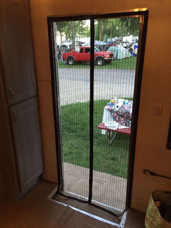 Details about 34 5 x 76 Screen for Side Door on Enclosed