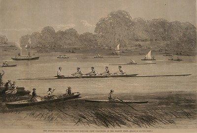 International Boat Race by Unknown