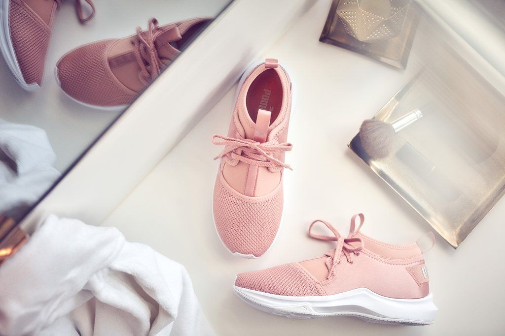 fdc18b0ff146bb Selena Gomez Is Pretty in Pink Modeling Puma s New Ballet-Inspired  Collection