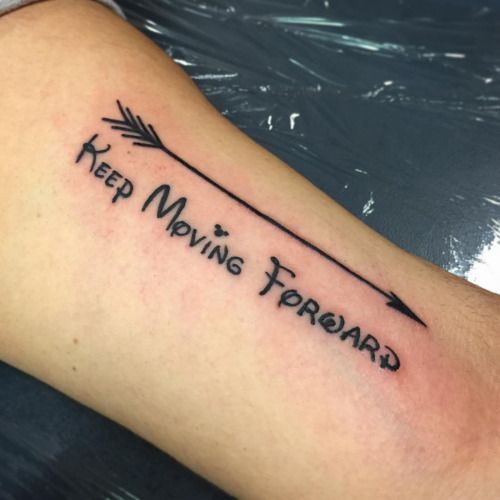 Keep Moving Forward Tattoo Google Search Passions Obsessions