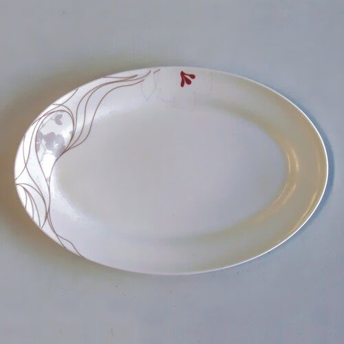 Brayden Studio This dinner plate is made of fine bone china material with under glaze hand decoration.