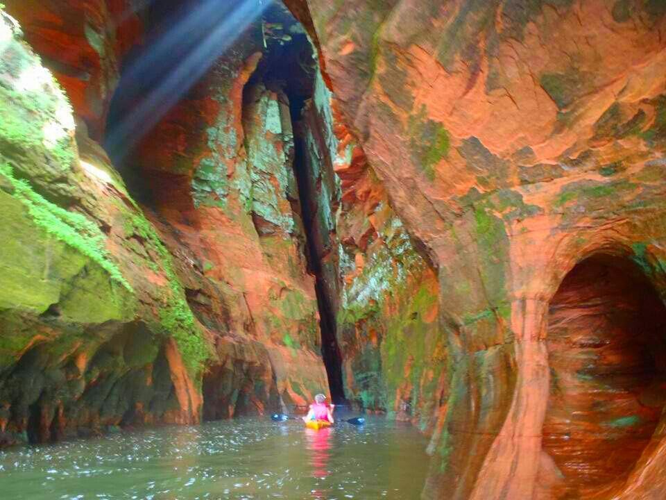 Kayaking The Apostle Islands Wi Wisconsin Island Tour