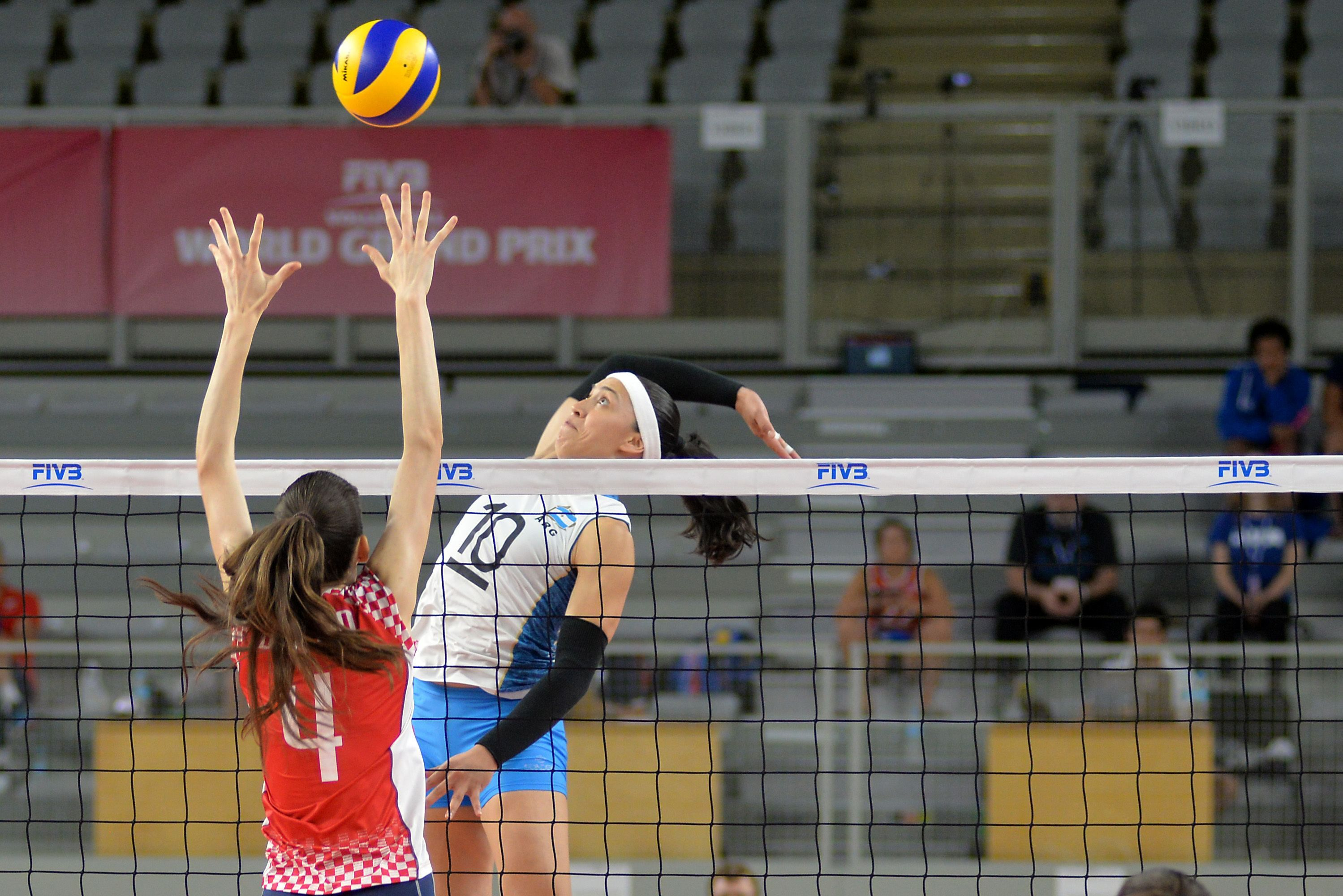 Korea Aces Kazakhstan Argentina S Sosa Racks Up 28 Points In Group 2 Volleyball Articles Beach Volleyball Kazakhstan