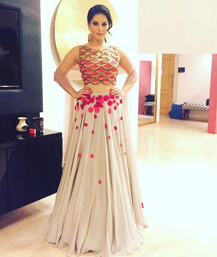 Designer Party Wear Indian Wedding Sari Bridal Bollywood Lehenga Choli New