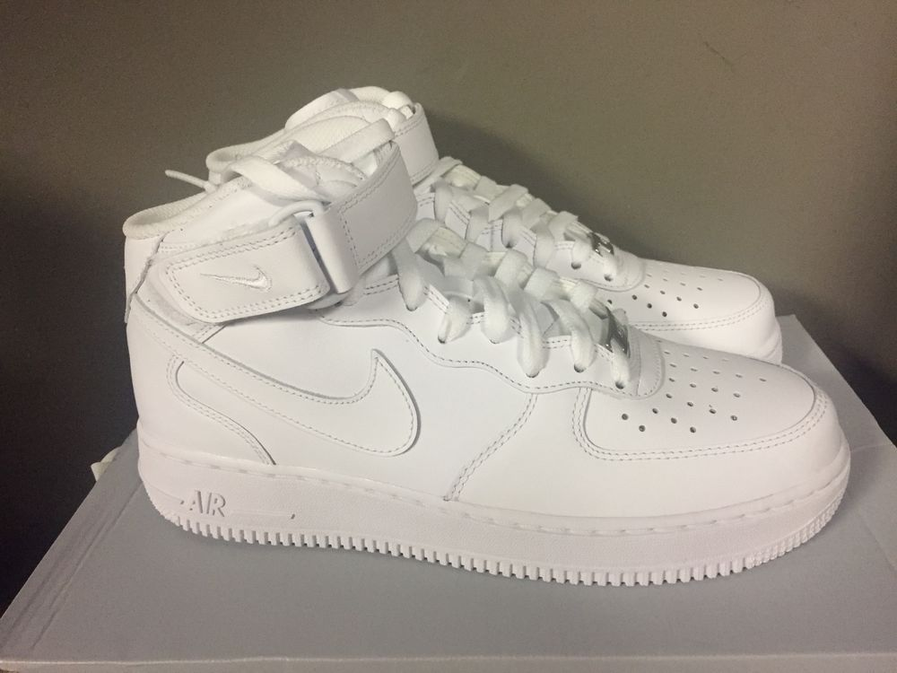 Nike Air Force 1 Mid '07 Men's Shoes White/White 315123-111