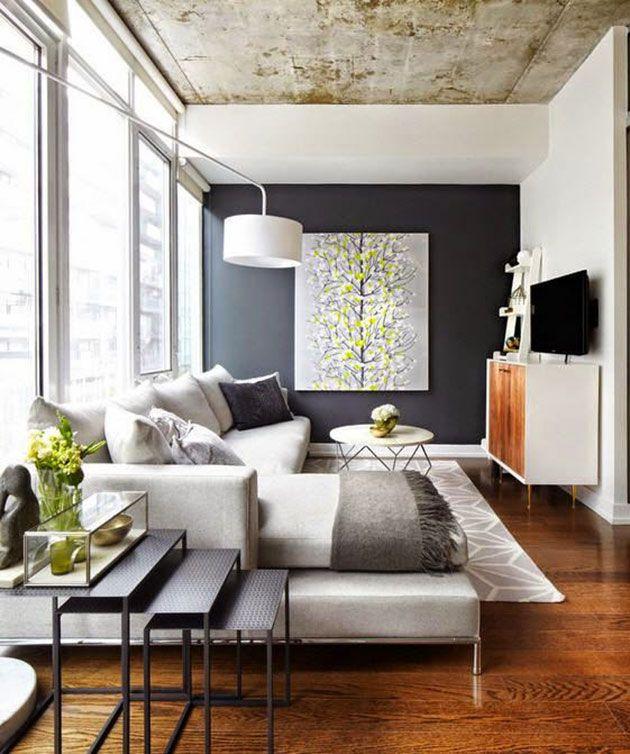 40 ideas para pintar, decorar y amueblar una habitación pequeña ...