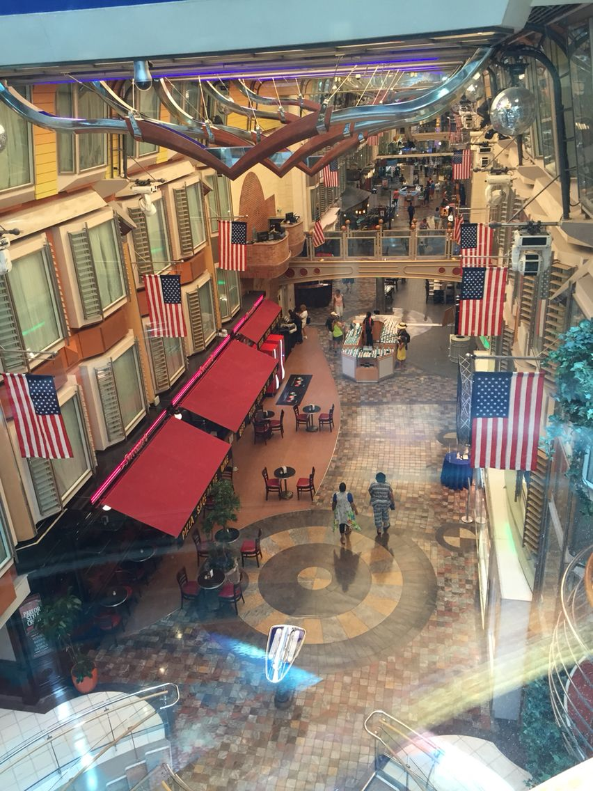 Freedom of the seas renovations 2015 - Royal Caribbean Freedom Of The Seas 2015 Royal Promenade