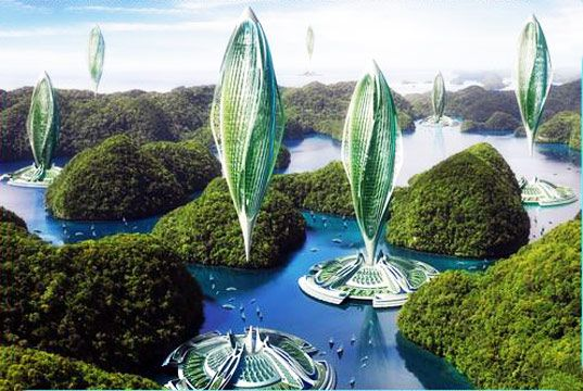 Architect Vincent Callebaut recently unveiled a blue-sky plan for a high-flying fleet of self-sufficient aircraft that are one part zeppelin cities and one part hydrogen-generating floating farms.