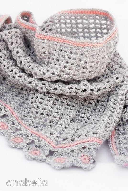 Crochet Baktus Scarf Pattern Knitting Bordado Pinterest Scarf