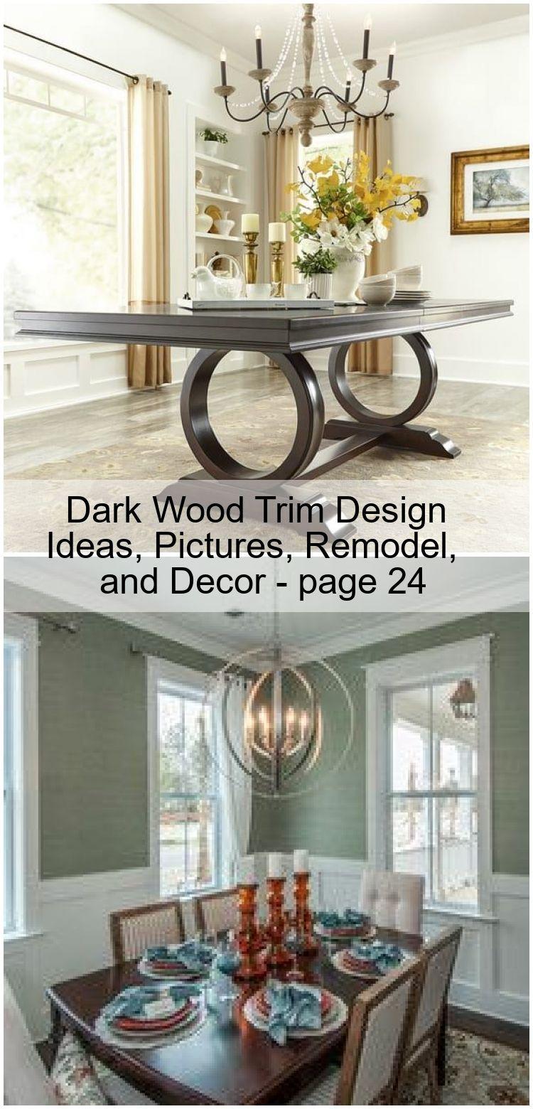Dark Wood Trim Design Ideas Pictures Remodel and Decor  page 24  living room decor dark wood Dark Wood Trim Design Ideas Pictures Remodel and Decor  page 24