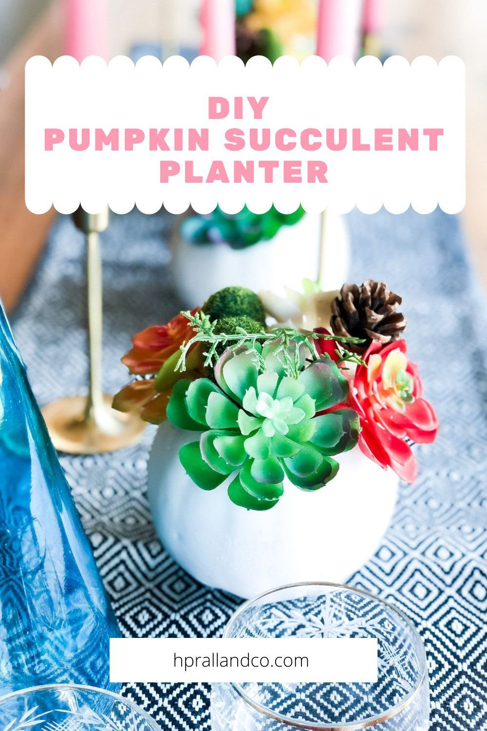 Fall // Fall Decor // Thanksgiving // DIY Decor // DIY Projects // Succulents // Centerpiece // Placecard Holder // Hostess Gift // Pumpkins // #Fall #Falldecor #Thanksgiving #DIYdecor #DIYprojects #Succulents #Centerpiece #Placecardholder #Hostessgift #Pumpkins