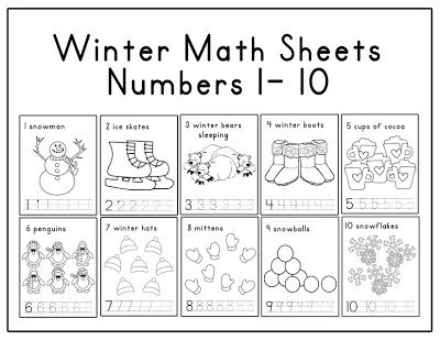 lawteedah winter themed week planning crafts pinterest winter math and worksheets. Black Bedroom Furniture Sets. Home Design Ideas