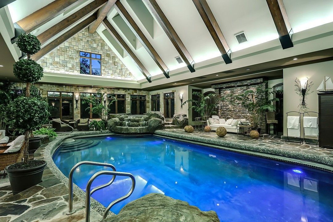 Palatial Country Mansion Near The Foothills Of The Canadian Rockies Idesignarch Interior Design Architecture Interior Decorating Emagazine Indoor Swimming Pools Indoor Pool Country Mansion