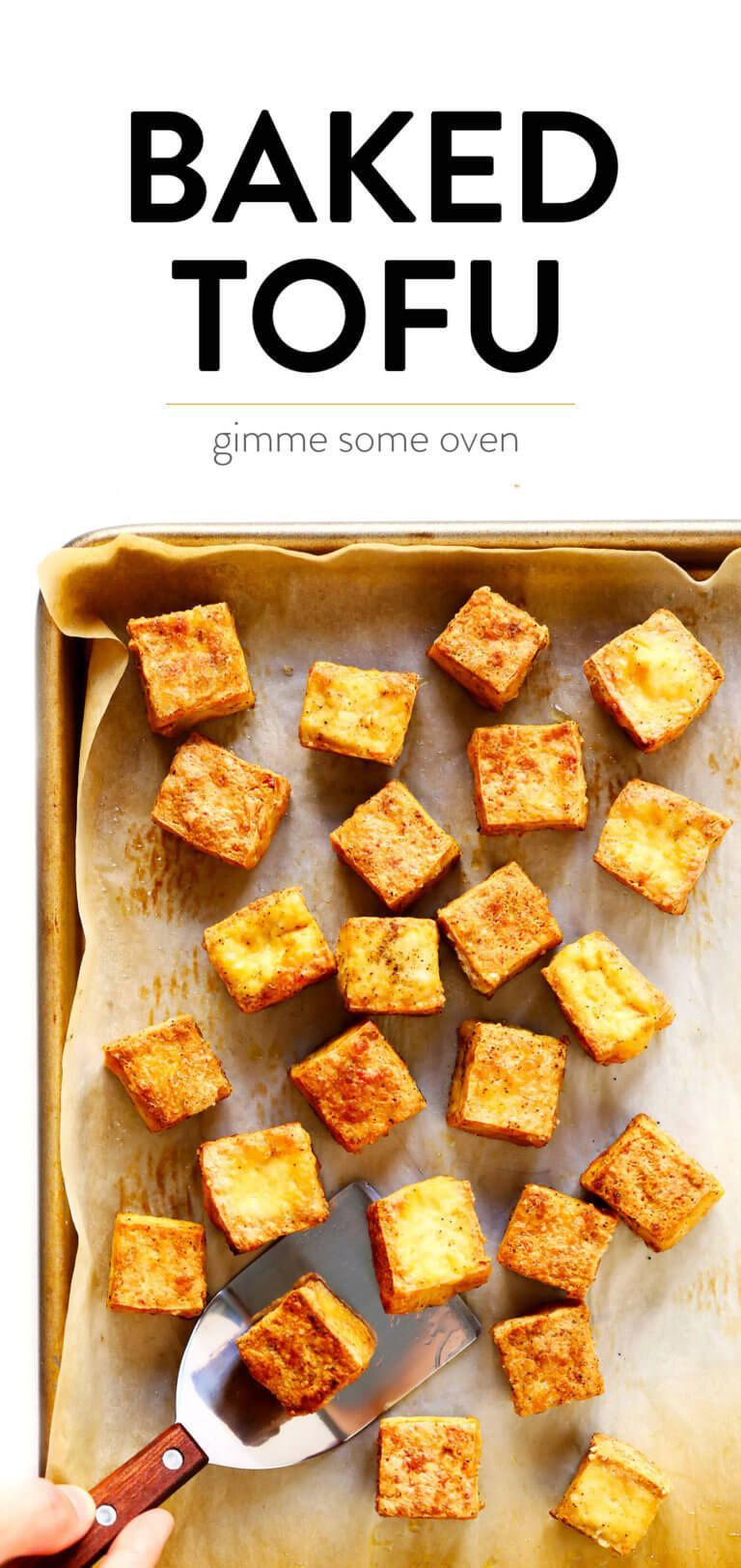 How To Make Baked Tofu | Gimme Some Oven #quickandeasydinnerrecipes