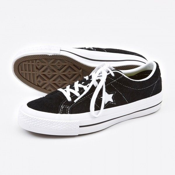 Converse One Star Hairy Suede BlackWhite ($81) </p>                     </div>   <!--bof Product URL --> <!--eof Product URL --> <!--bof Quantity Discounts table --> <!--eof Quantity Discounts table --> </div>                        </dd> <dt class=