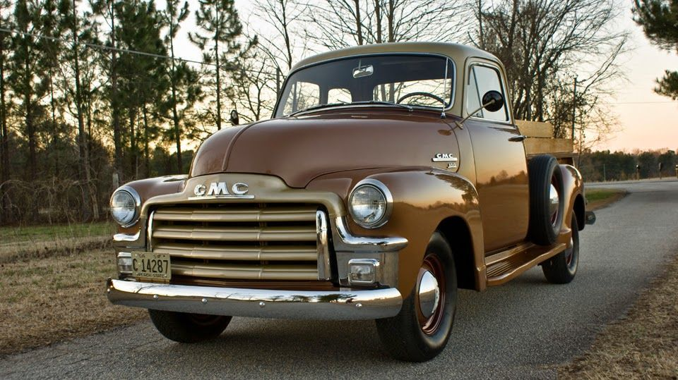 All American Classic Cars: 1954 GMC 100 Pickup Truck    Source link #American #C…