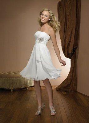 802337dcb667 Come diventare una sposa bellissima  Stili unici per abiti da sposa corti  2015.