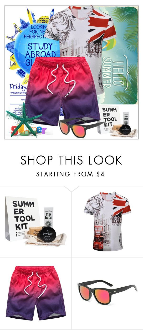 """""""Rosegal 75/ II"""" by emina-095 ❤ liked on Polyvore featuring Triumph & Disaster, Sessions, men's fashion, menswear, polyvoreeditorial and rosegal"""