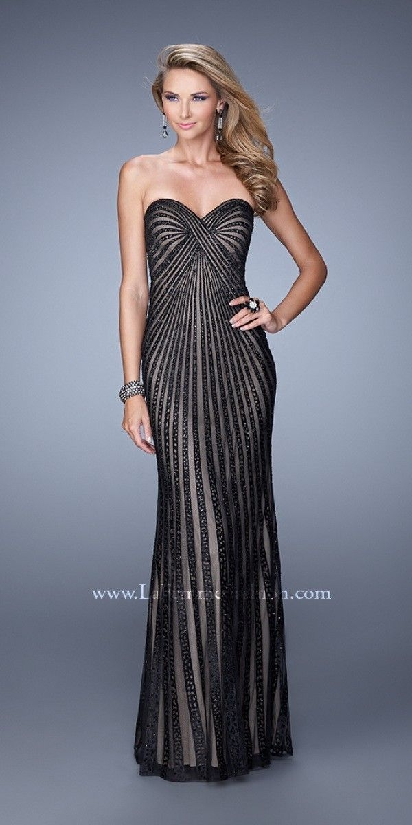 Gorgeous Beaded Prom Dress $308.99 Strapless Prom Dresses and ...