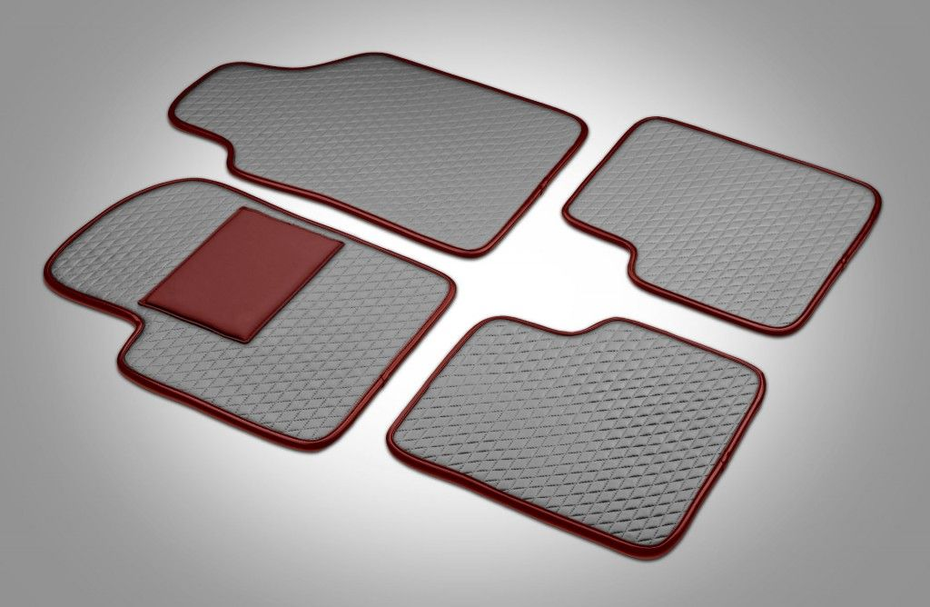 Leather Car Floor Mats For Maserati And Other Luxuries Interiors Such As  Bugatti, Aston Martin