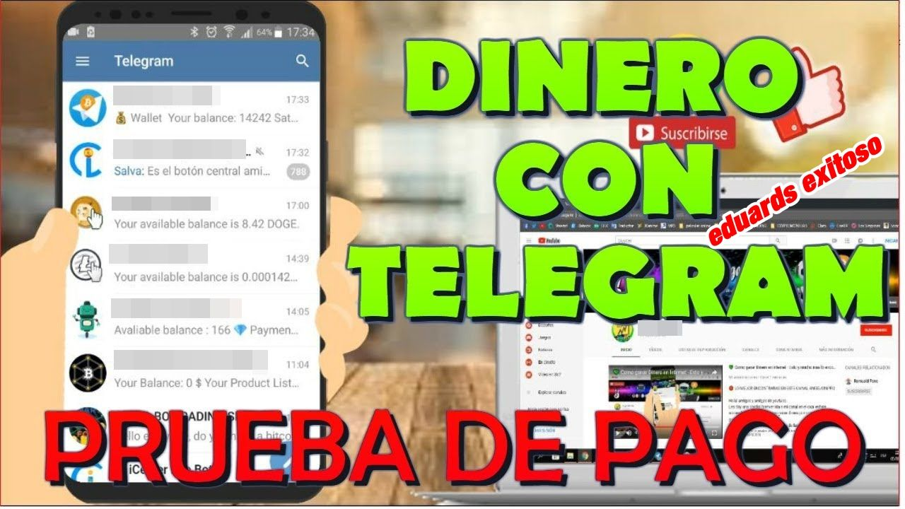 Cómo Ganar Dinero Con Telegram 2020 Bot De Telegram Para Ganar Dinero En Internet Es éxito Total Ganar Dinero Por Internet Como Ganar Dinero Dinero