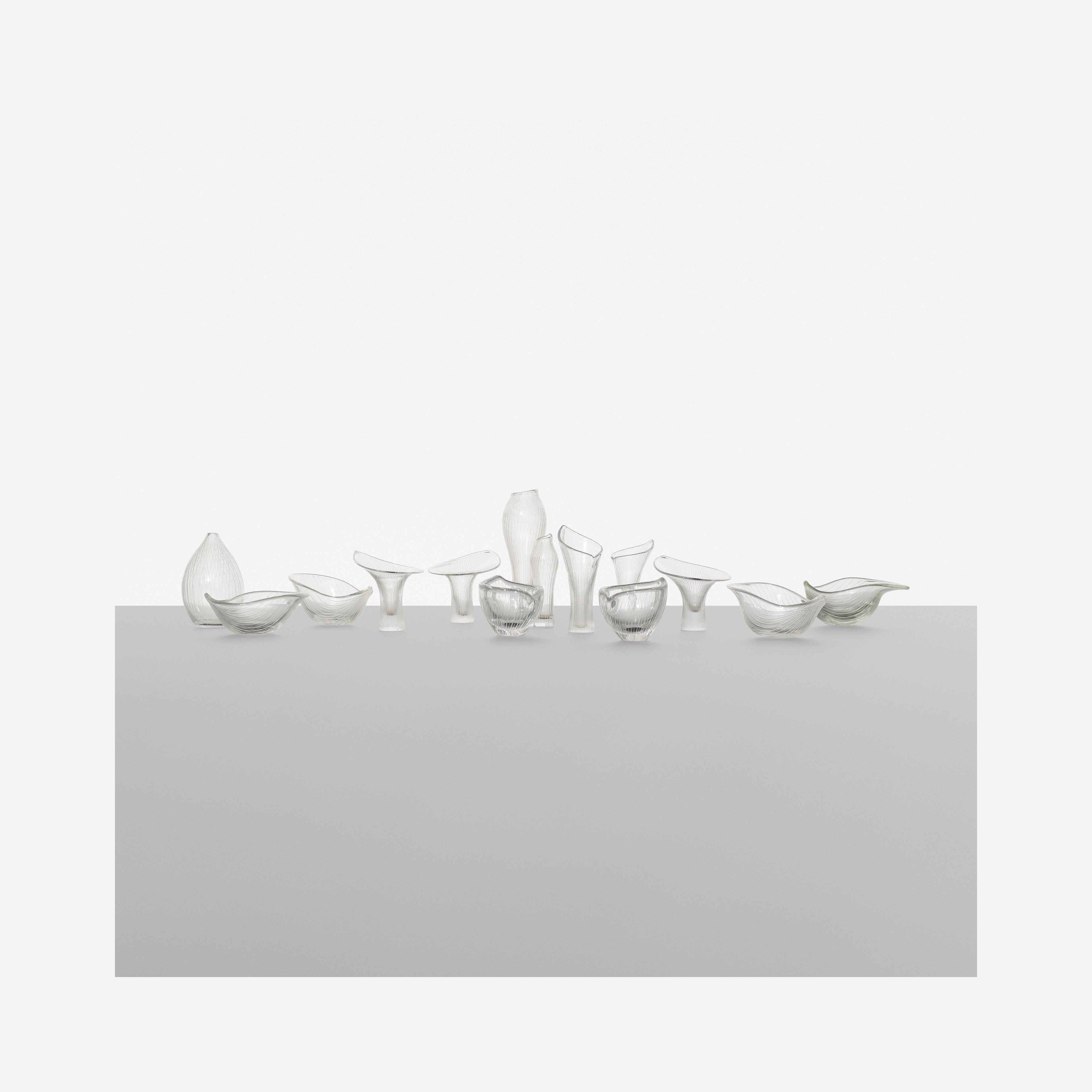 139: Tapio Wirkkala / collection of fourteen vessels < Scandinavian Design, 5 November 2015 < Auctions | Wright