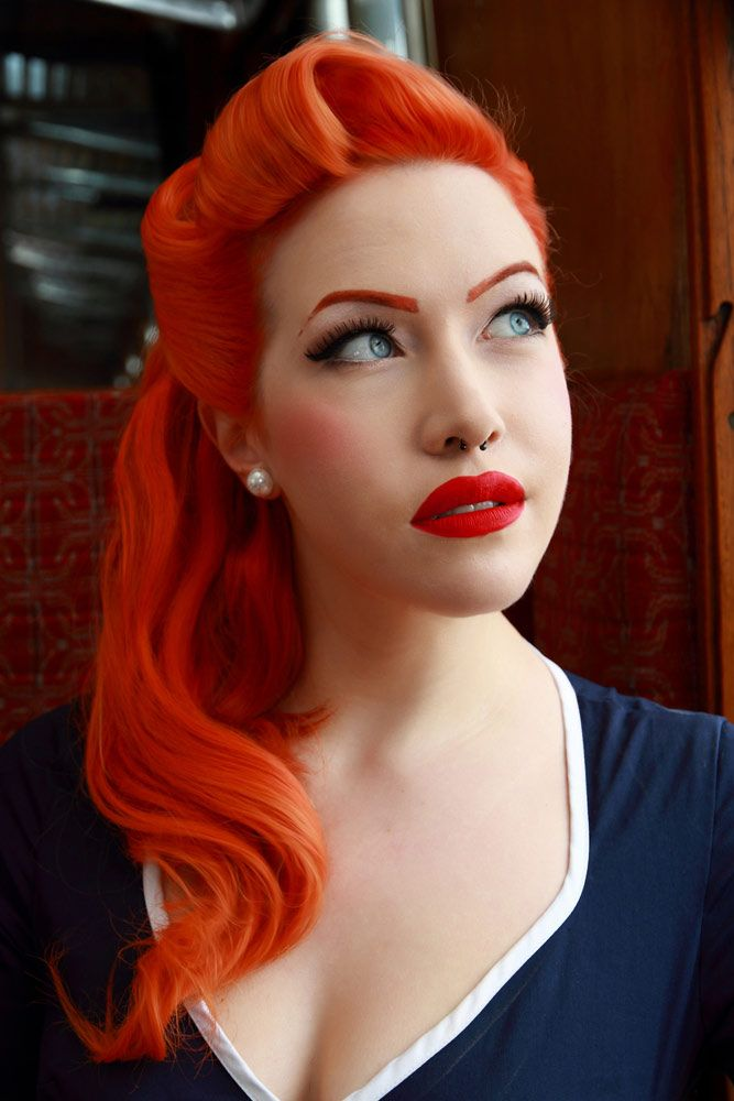 Adored Vintage 12 Vintage Hairstyles To Try For: 12 Updos For Medium Length Hair