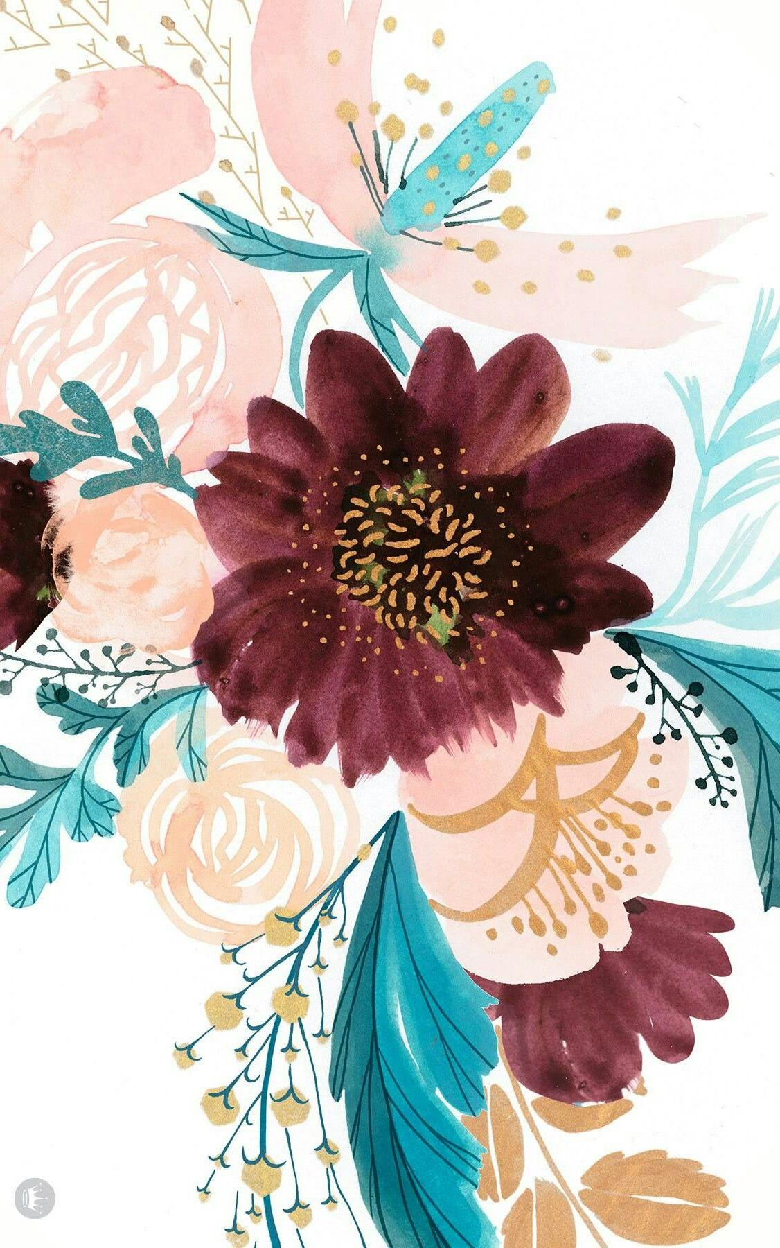 Spring Wallpaper Floral Wallpaper Phone Wallpaper