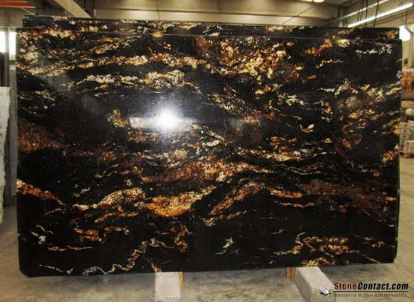 Black Fusion Granite : Black fusion granite for the kitchen pinterest