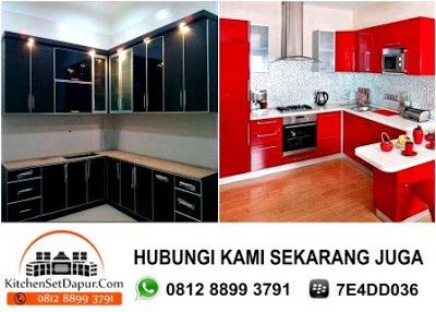 Jasa Pembuatan Kitchen Set Serpong Hub 0812 8899 3791 Jasa