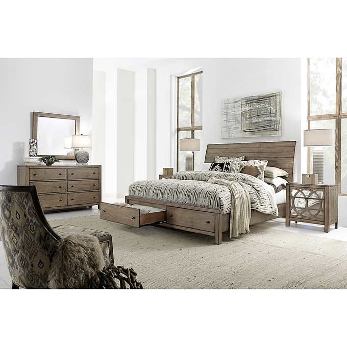 Omg I Need This Audrey 5 Piece King Storage Bedroom Set Costco