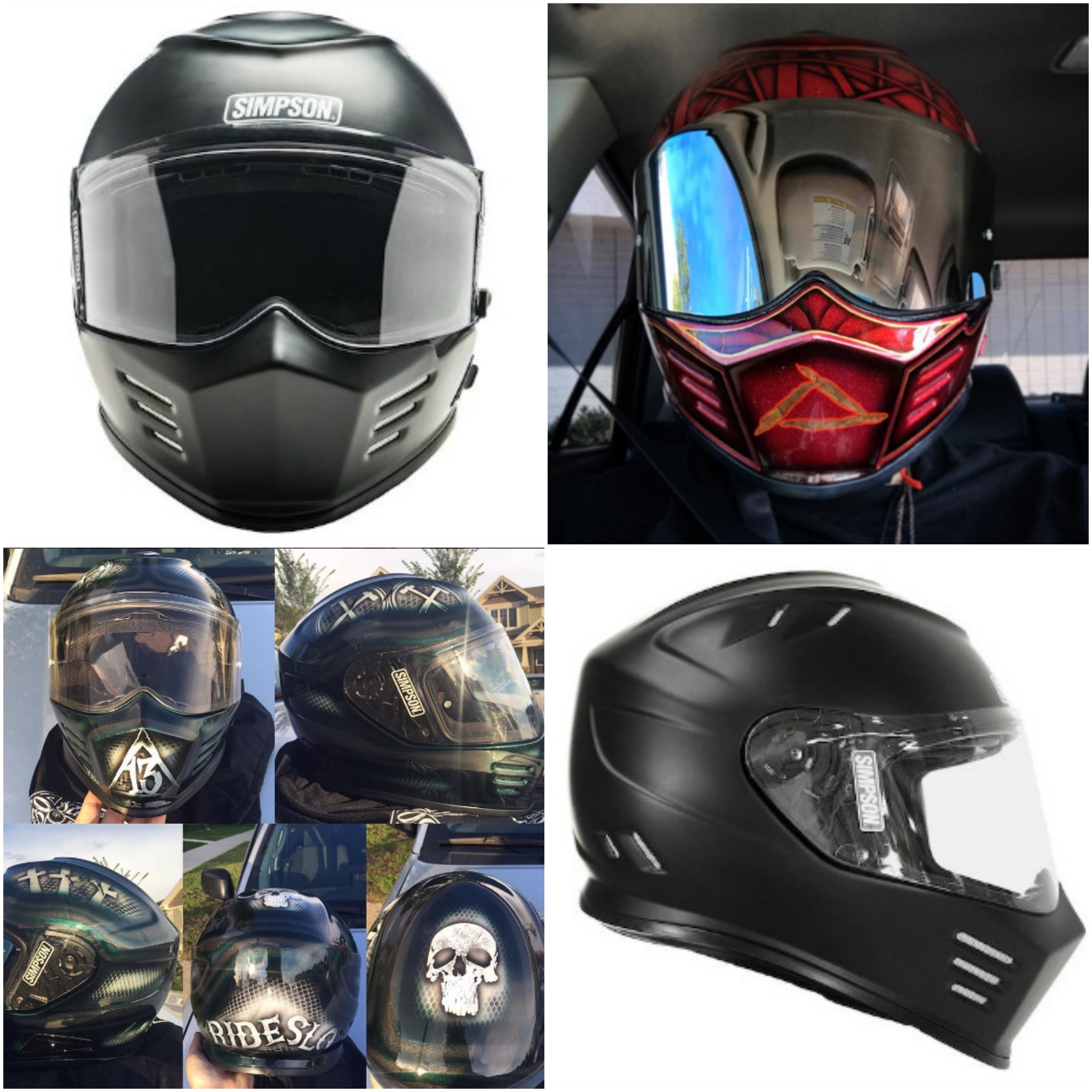 Simpson Ghost Bandit Helmet Review – A Guide To Deciding If This Is ... 3984ff6a11faf