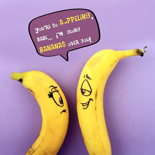 Witty One Line Quotes: Funny Fruity One-Liner Quote Posters