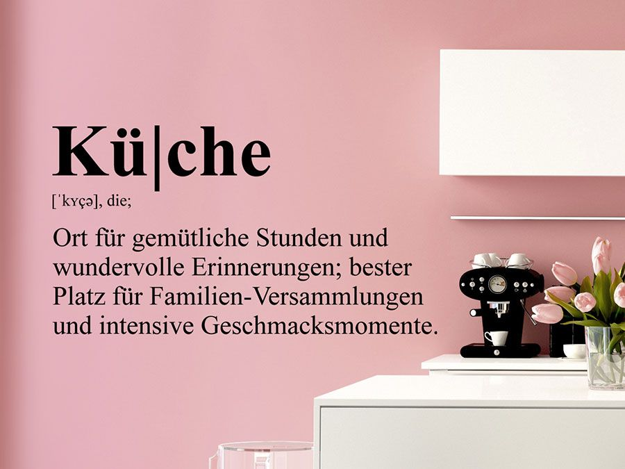 Küche Definition Definitions and Hygge - wandtatoo für küche