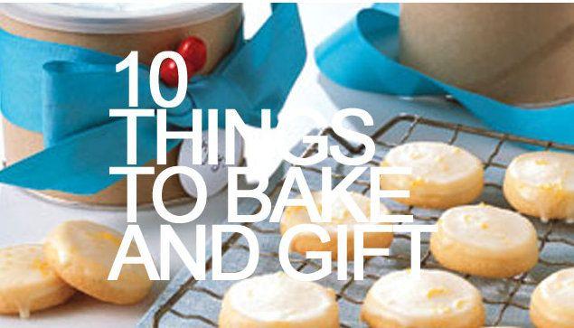 10 things to bake for Christmas Christmas stuff Pinterest