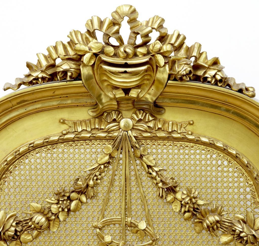 Louis Xvi Rattan Bed Gold Leaf Rattan Bed French Country Bathroom French Country Bedrooms