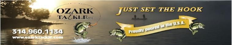Ozark Tackle, soft bait plastic supplier,manufacturer