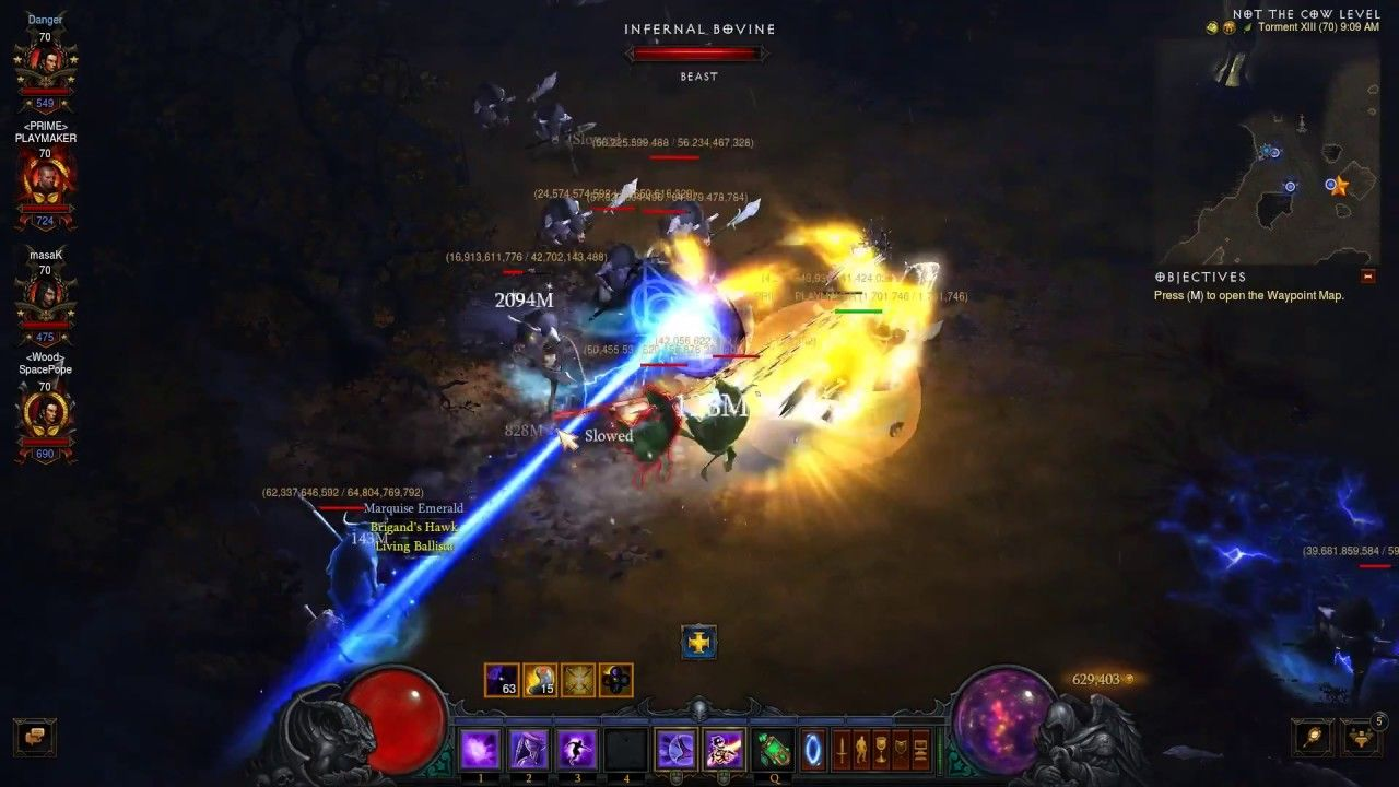 Not The Cow Level Diablo 3 Gameplay Season 10 Wizard On Torment 13 Diablo 3 Diablo Games To Play