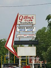 Gilleys home of Urban Cowboy.  I visited there shortly after filming.  Huge bar.  Awesome.
