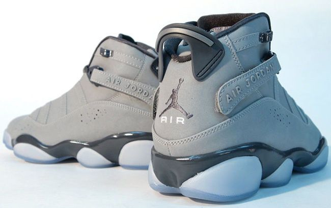 04031e39e6ce Nike Jordan 6 Rings 3M Sz 11 (322992-001) METALLIC SILVER LT GRPHT-WHITE   Jordan  BasketballShoes