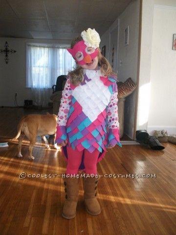 Coolest Girls Owl Halloween Costume Halloween costumes, Owl and - different halloween costume ideas
