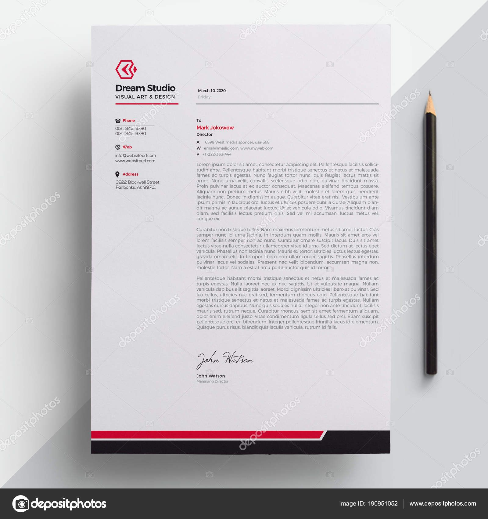 download modern company letterhead template — stock finance business partner resume sample objective for fresh graduate summary of qualifications cv